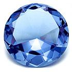 Хрустальный бриллиант для гармонии (6 см)