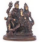 Шива,Парвати,Ганеша и Сканда