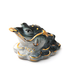 Жаба богатства из фарфора ( малая)