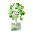 Дерево на каменной подставке  (зеленое)