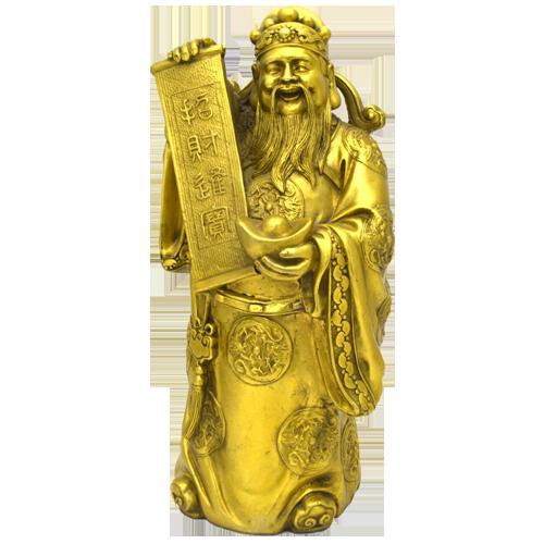 Бог богатства Туа Пех Конг (Бронза)