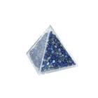Пирамида с синими камнями