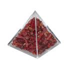 Пирамида с красными камнями