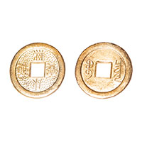 Золотая монета (3 см)
