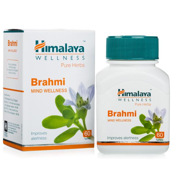 Брахми Гималаи Brahmi Himalaya, 60 таб.