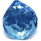 Кристалл подвесной синий 3 см