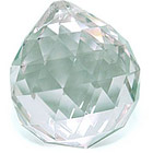 Кристалл подвесной бесцветный 3 см