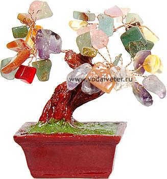 Дерево из самоцветов (9 см)