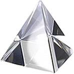 Хрустальная пирамида (8 см)