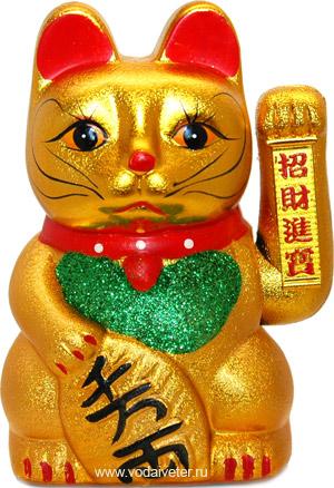 Кошечка Манеки-Неко (на батарейках)