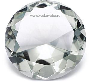 Хрустальный бриллиант для карьеры (4 см)