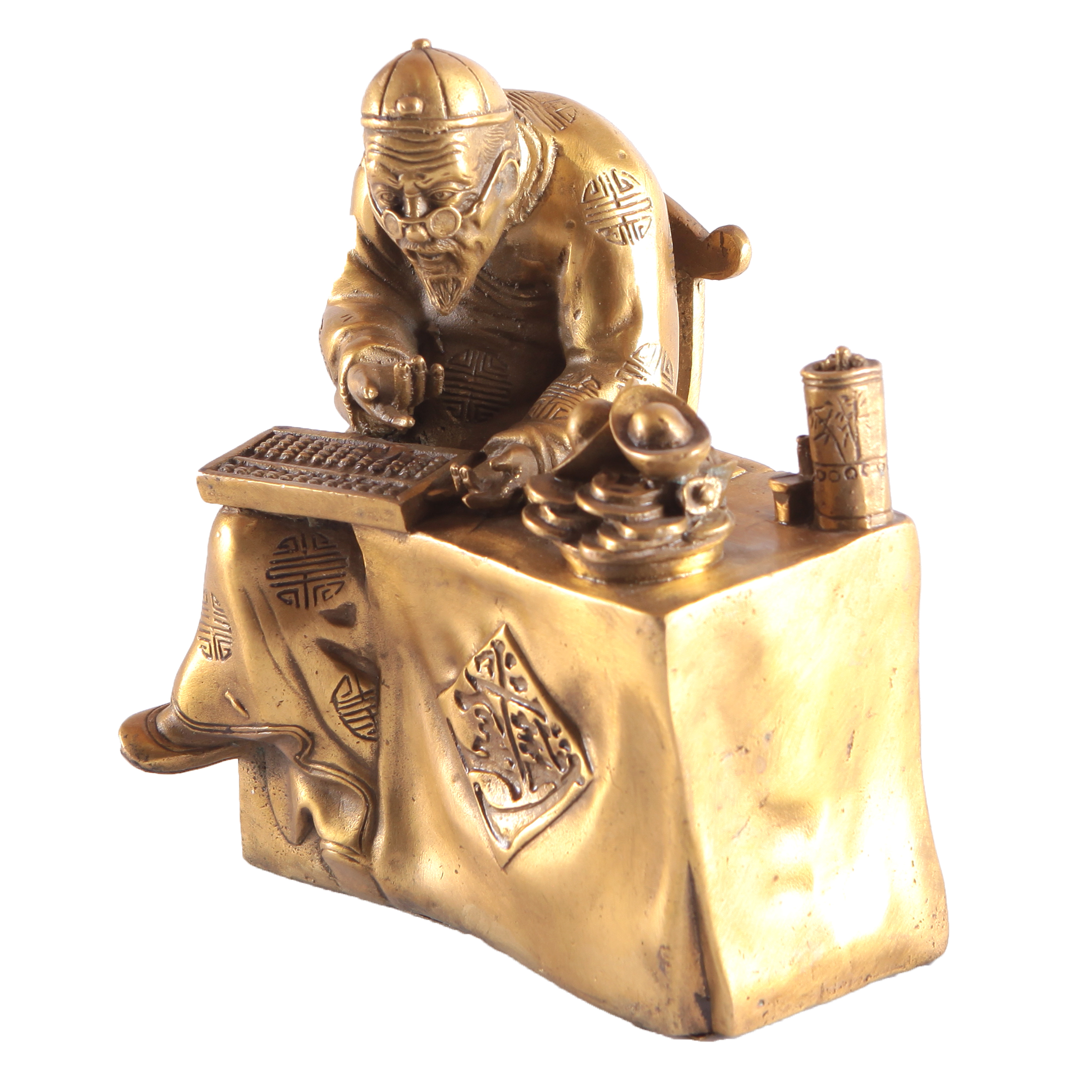 Большой Хозяин Денег (бронза)