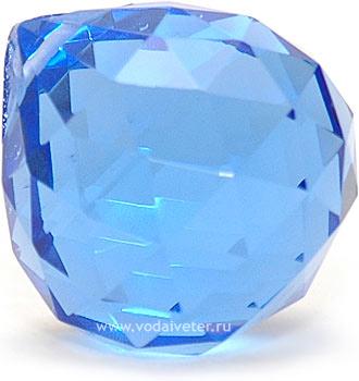 Кристалл подвесной синий (5 см)