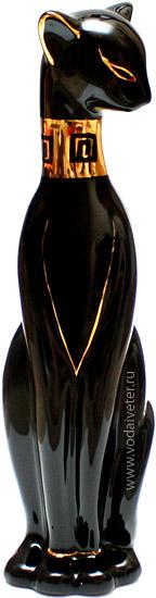 Черная кошка (фарфор)