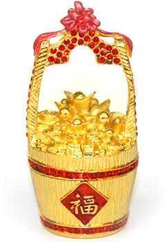 Кадка с золотом (шкатулка)