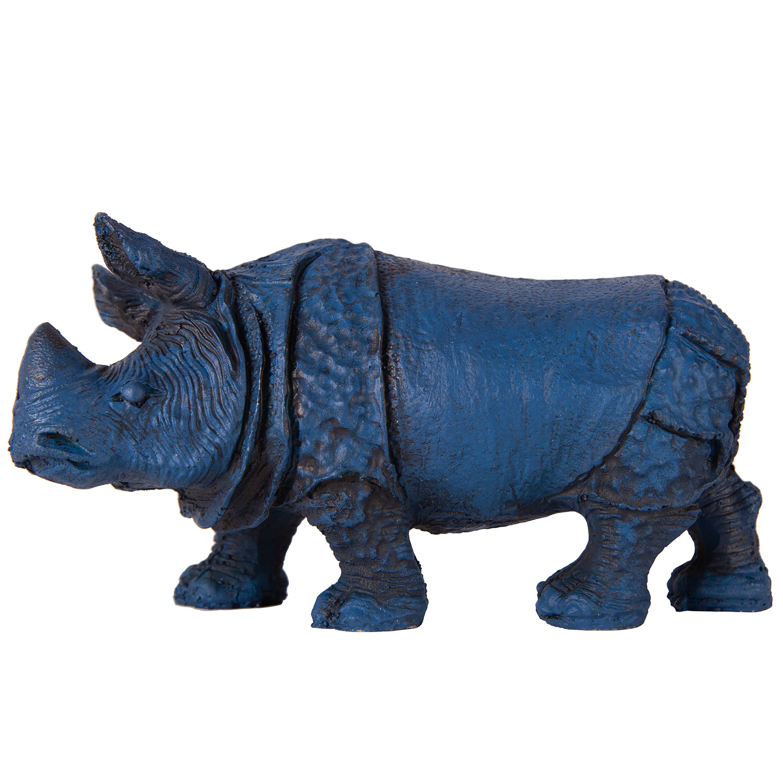 Носорог синий