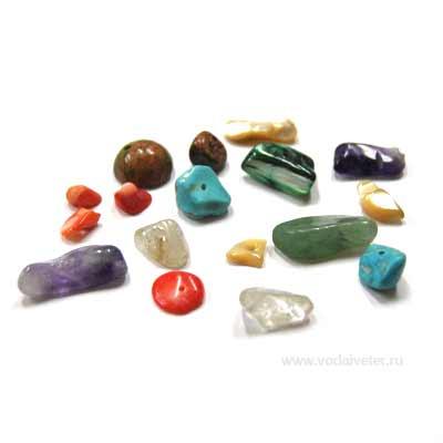 Полудрагоценные камни для чаши богатства
