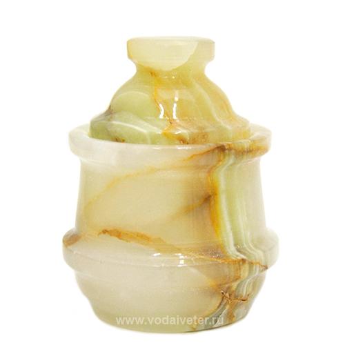 Шкатулка из полосатого оникса ( малая)