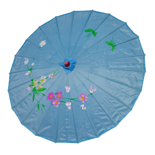 Китайский зонтик (голубой)