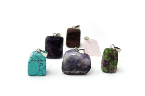 Кулон из натурального камня (ассорти)