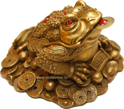 Жаба богатства (бронза)