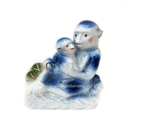 Две обезьяны (фарфор)