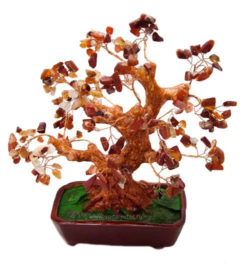 Дерево из сердолика (28 см)