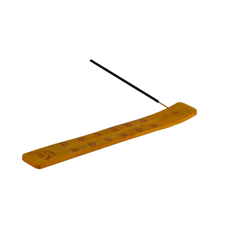 Подставка лыжа. Желтая