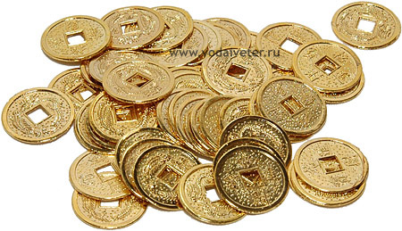 10 золотых монет