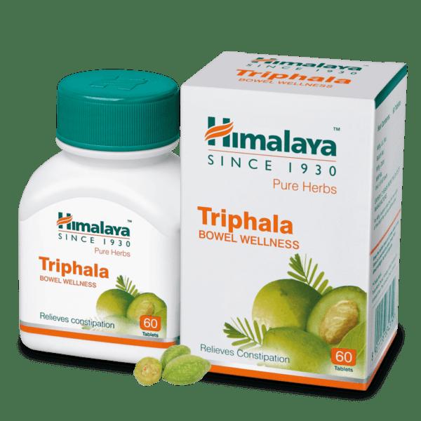 Трифала Гималаи Triphala Himalaya 60 таб.