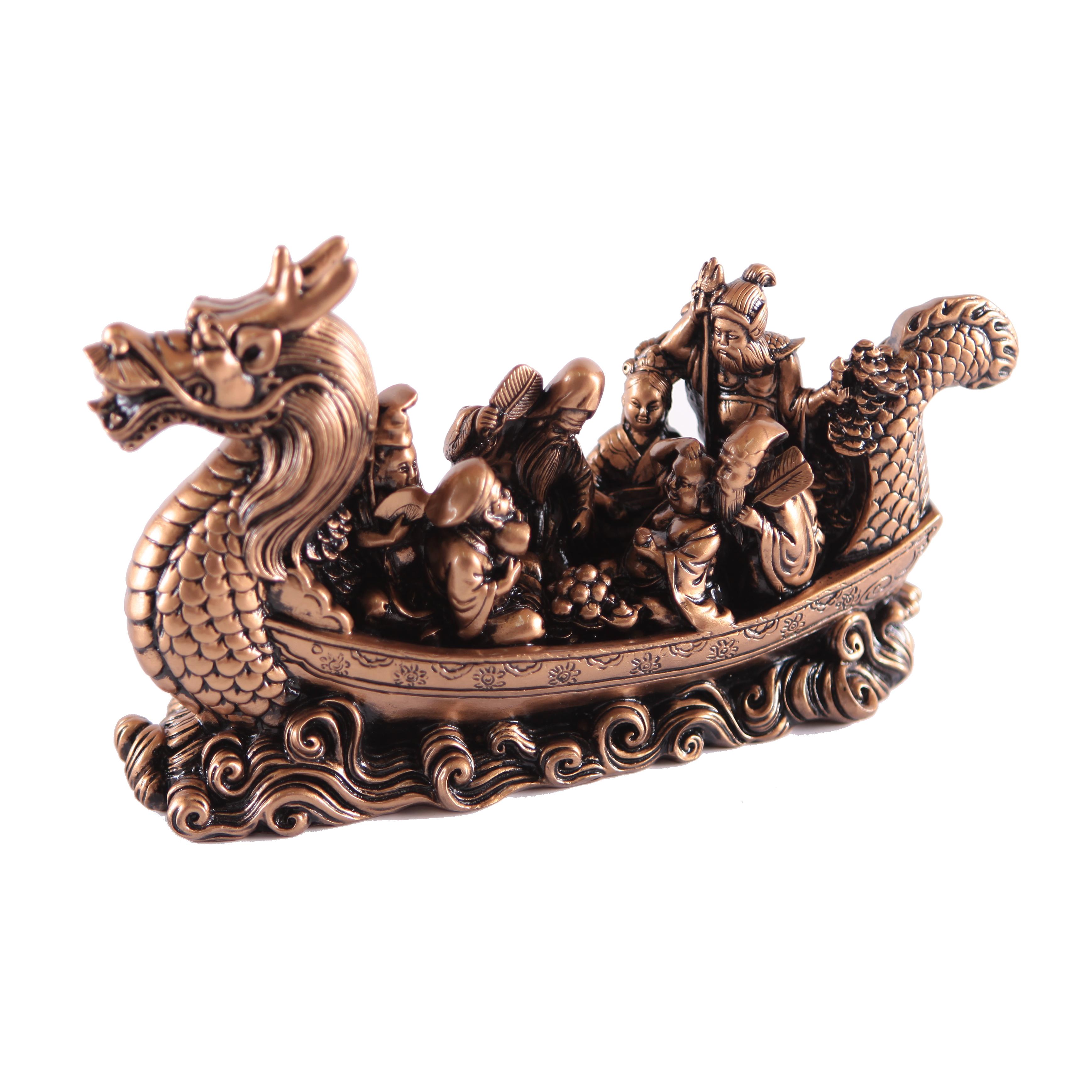 Семь богов счастья в ладье-драконе (суперкачество)