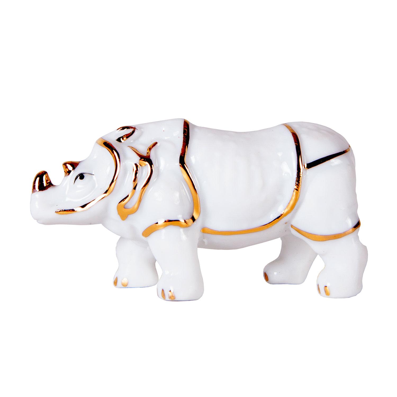 Носорог  (фарфор)