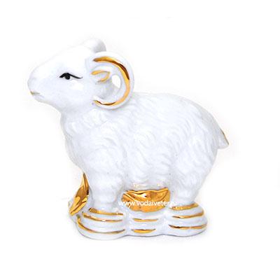 Баран белый (фарфор)