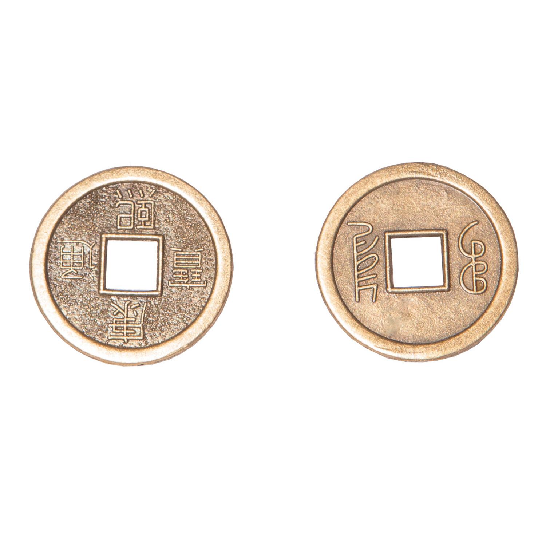 Монета счастья (2 см)