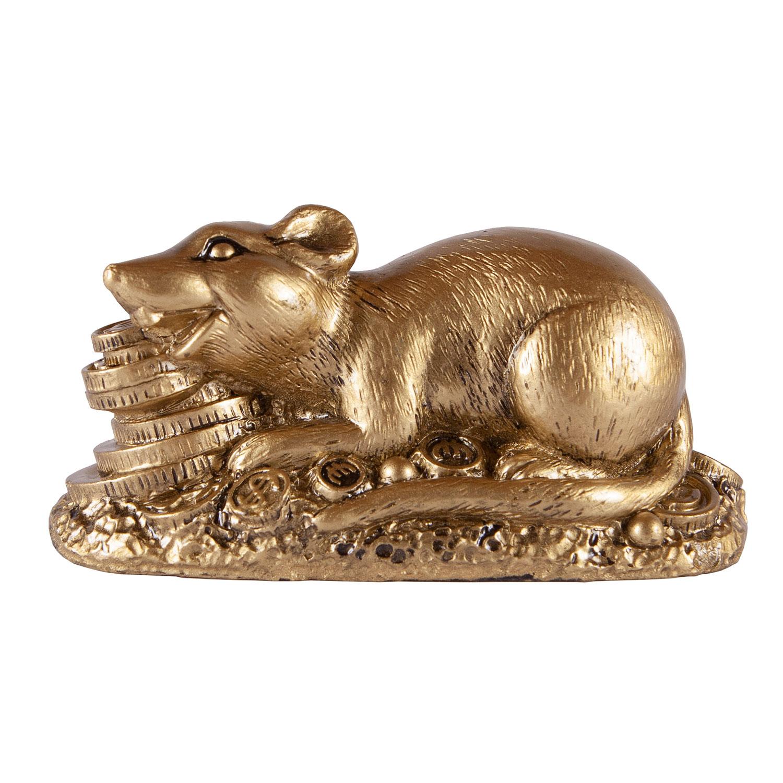 Крыса с золотыми монетами
