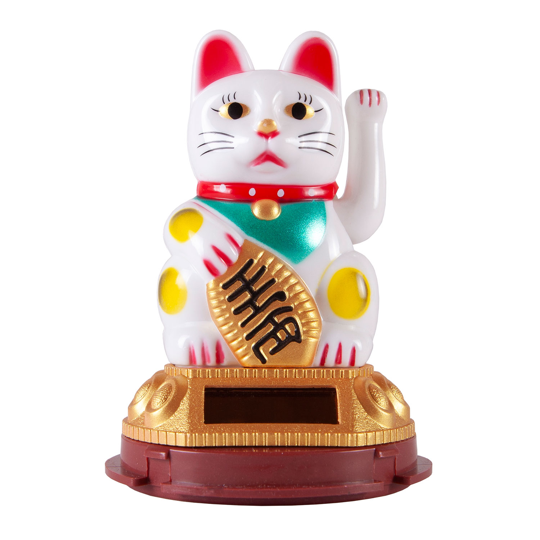 Кошечка Манеки-Неко (белая)
