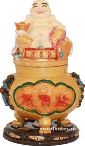 Хоттей на  чаше богатства (шкатулка)